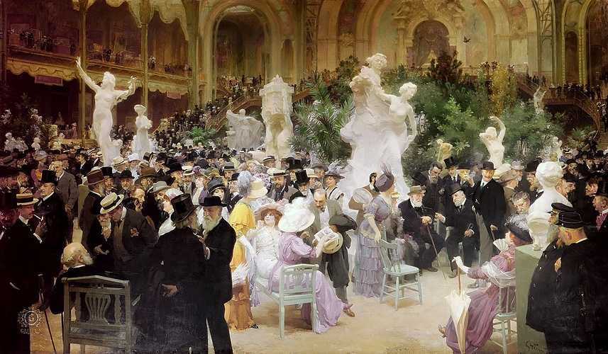 Sennelier, partner of the Salon of the Société des Artistes Français 0