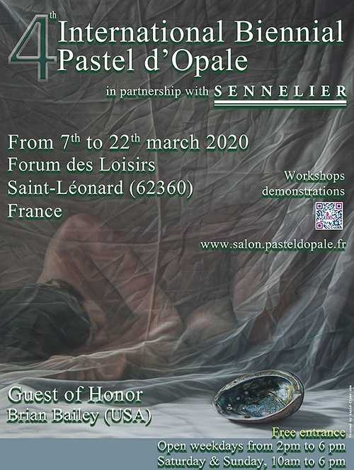 Sennelier, partner of the Biennale Internationale Pastel d''Opale 0