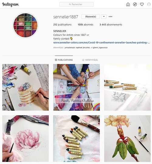 """Sennelier Instagram surpasses the 100,000 followers and organizes a """"Giveaway"""" to celebrate the event. 0"""