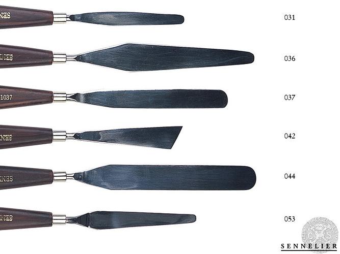 Palette knives 0