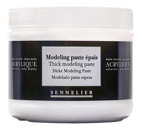 Thick modeling paste 0