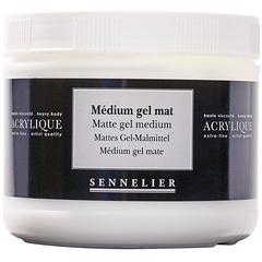 matte gel medium