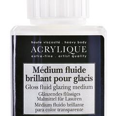 gloss fluid glazing medium