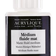 matte fluid medium