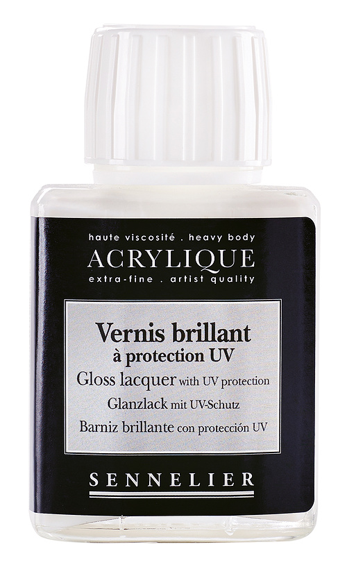 Gloss lacquer with UV protection 0