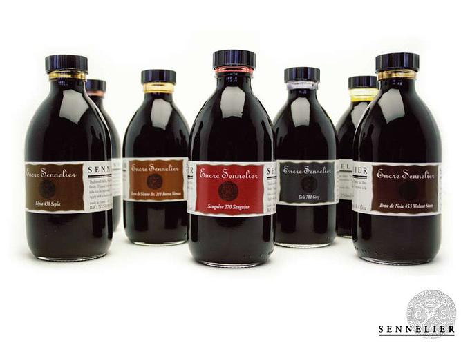 Sennelier Ink in 250 ml jar 0