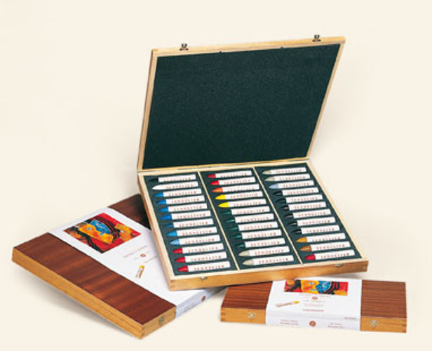 Oil pastels - Wooden Sets 0