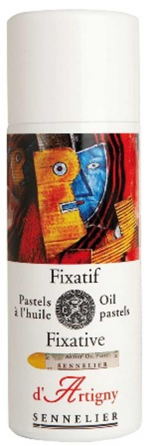 Oil Pastel fixative 0