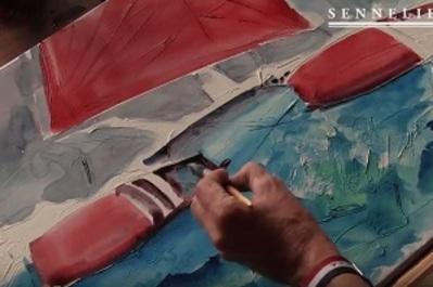 How do we get textured watercolor ?